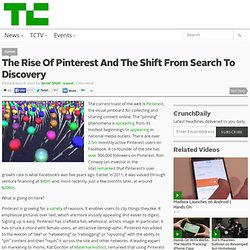 The Rise Of Pinterest And The Shift From Search To Discovery