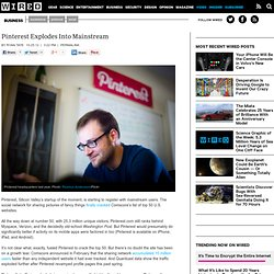 Pinterest Explodes Into Mainstream | Wired Business