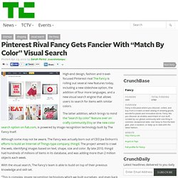 "Pinterest Rival Fancy Gets Fancier With ""Match By Color"" Visual Search"