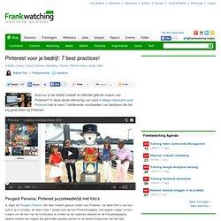 Pinterest voor je bedrijf: 7 best practices!