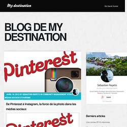 De Pinterest à Instagram, la force de la photo sur les médias sociaux