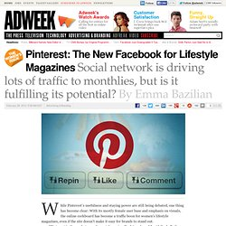 Pinterest: The New Facebook For Lifestyle Magazines