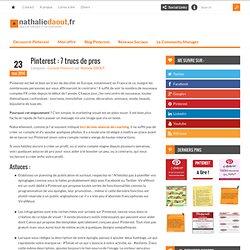 Pinterest : 7 trucs de pros