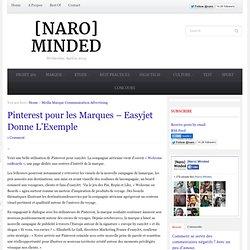 Pinterest pour les Marques – Easyjet Donne L'Exemple