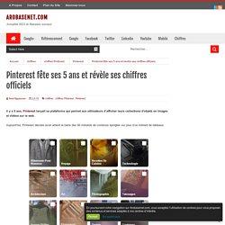 Pinterest fête ses 5 ans et révèle ses chiffres officiels - #Arobasenet.com
