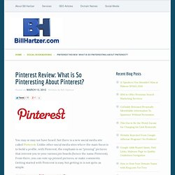 Pinterest Review: What is So Pinteresting About Pinterest?