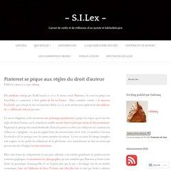 Pinterest se pique aux règles du droit d'auteur