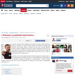 « Pinterest, un potentiel viral énorme »