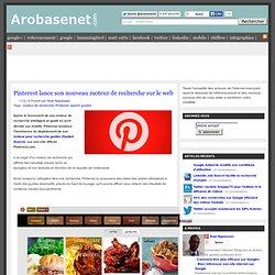 Pinterest lance son nouveau moteur de recherche sur le web