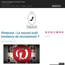 Pinterest - Le nouvel outil tendance de recrutement ?