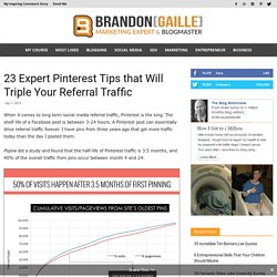 23 Expert Pinterest Tips that Will Triple Your Referral Traffic