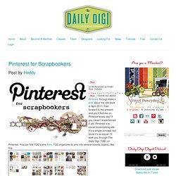 Pinterest for Scrapbookers