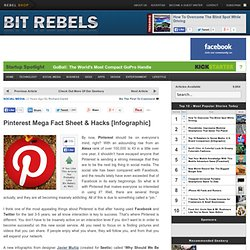 Pinterest Mega Fact Sheet & Hacks