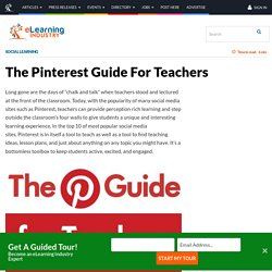 The Pinterest Guide For Teachers - eLearning Industry