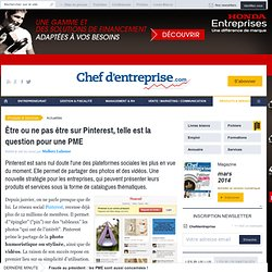 Pinterest pour les PME.