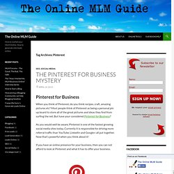 The Online MLM Guide
