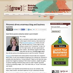 Pinterest drives enormous blog and business success