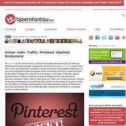 Immer mehr Traffic: Pinterest überholt Komkurrenz