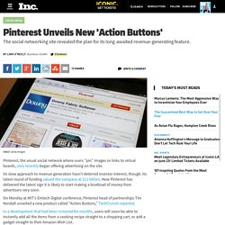 Pinterest Unveils New 'Action Buttons'