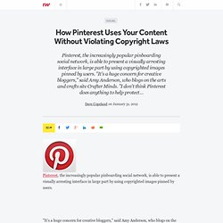 How Pinterest Uses Your Content Without Violating Copyright Laws