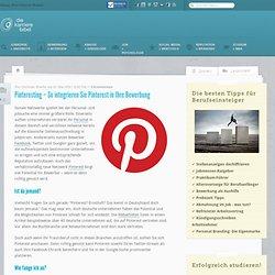 Pinteresting – So integrieren Sie Pinterest in Ihre Bewerbung