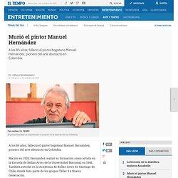 Murió el pintor Manuel Hernández - Arte y teatro