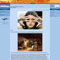 La guerra en la pintura española:Goya y Picasso