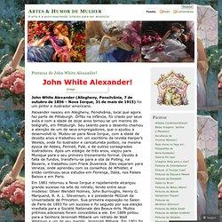 Pinturas de John White Alexander!