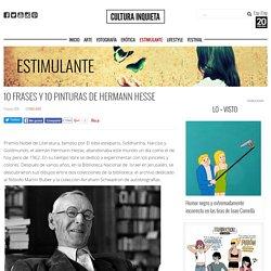10 frases y 10 pinturas de Hermann Hesse - Cultura Inquieta