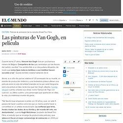 Las pinturas de Van Gogh, en película