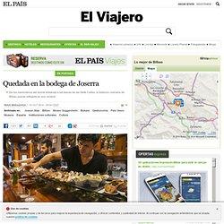 De pintxos en Bilbao: Quedada en la bodega de Joserra