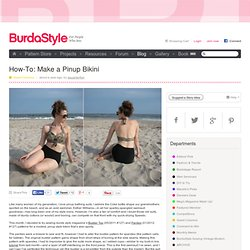 How-To: Make a Pinup Bikini
