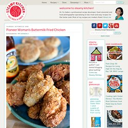 Pioneer Woman's Buttermilk Fried Chicken