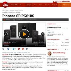 Pioneer SP-PK21BS review