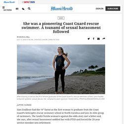 Coast Guard's pioneering rescue swimmer tells of sex abuse