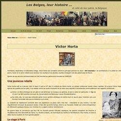 Victor Horta, pionnier de l'Art nouveau – Histoire des Belges