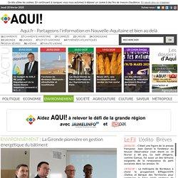 La Gironde pionnière en gestion énergétique du bâtiment