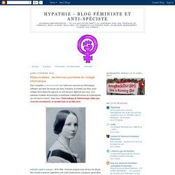 Rôles-modèles : les femmes pionnières du codage informatique