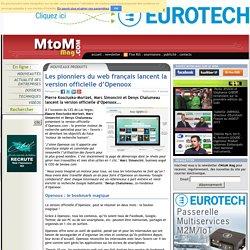 Les pionniers du web français lancent la version officielle d'Openoox
