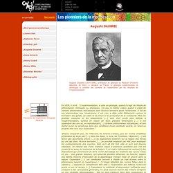 Auguste Daubrée - Les pionniers de la modelisation - GeoManips