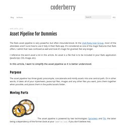 Asset Pipeline for Dummies - coderberry