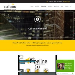 Callbox Pipeline - B2B Lead Generation Company Malaysia
