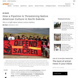 A Pipeline Is Threatening Native American Culture