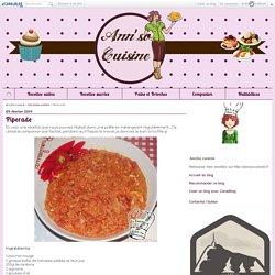 Piperade - AnnSo cuisine