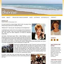 Piping Up : Thérèse Blogs