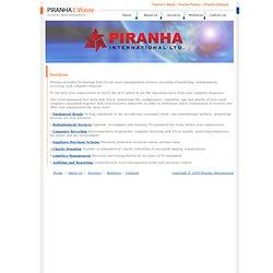 Piranha - E-Waste - Services
