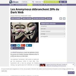 Piratage : les Anonymous débranchent 20% du Dark Web