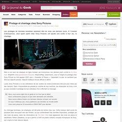 Piratage et chantage chez Sony Pictures