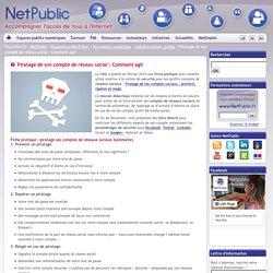NetPublic » Piratage de son compte de réseau social : Comment agir