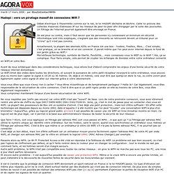 Hadopi: vers un piratage massif de connexions Wifi?